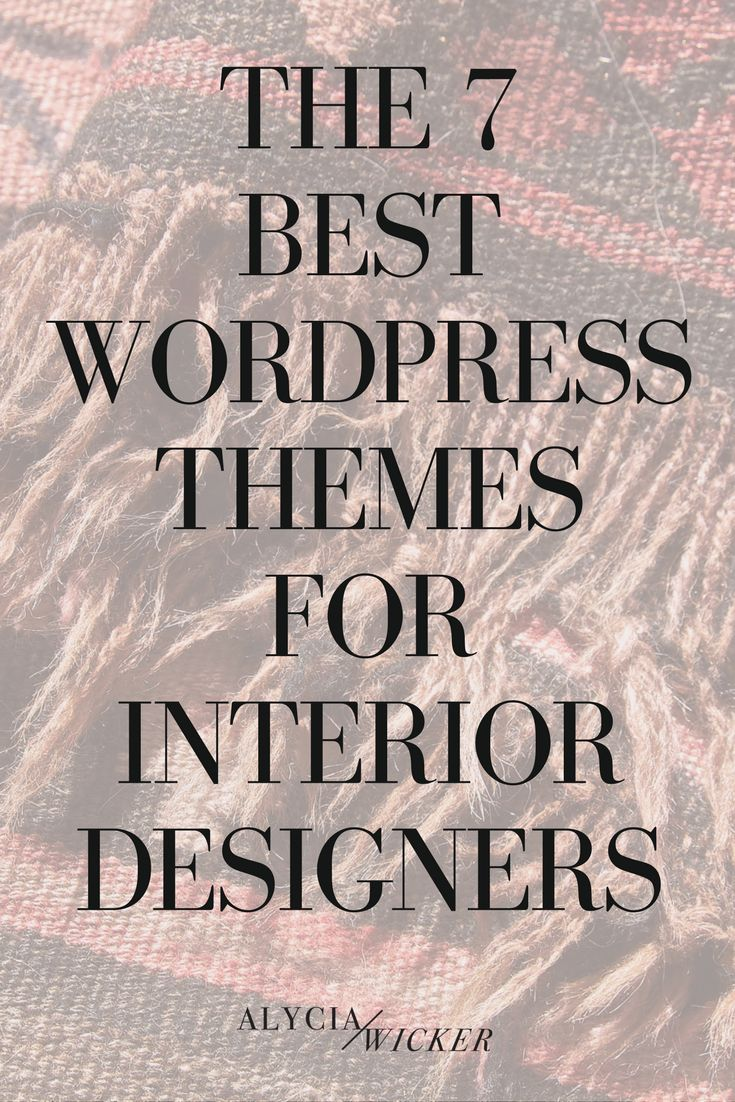 The 7 best wordpress themes for interior designers - Interior design jobs in california ...