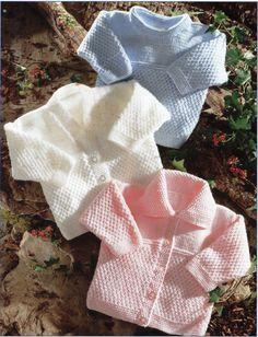 baby knitting pattern pdf baby cardigans knitting by Minihobo