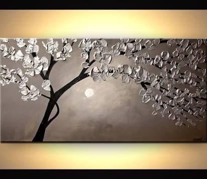 """Résultat de recherche d'images pour """"silver abstract paintings"""""""
