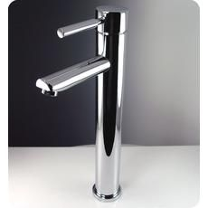 $142 Tolerus Single Hole Vessel Mount Bathroom Vanity Faucet - Chrome