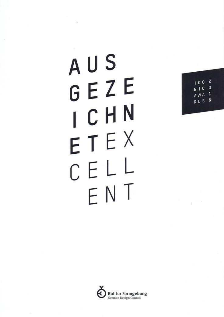 Iconic Award Catalogue German Design Council isbn: 978-3-946318-10-1#architecture #mountains #design #interior #contemporary #modern