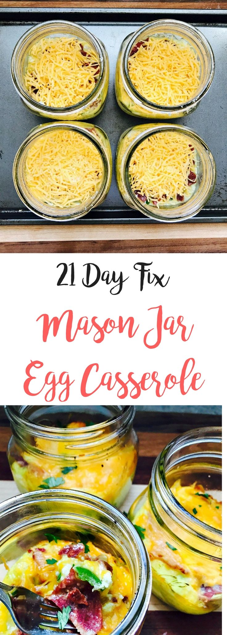 21 Day Fix Egg Casserole | Confessions of a Fit Foodie