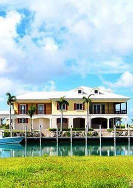 Evansted Estate - 7 bedroom waterfront rental villa, Grand Bahama Island