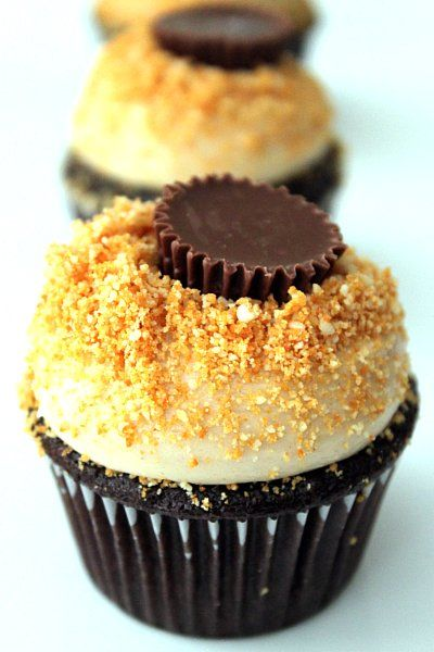 Peanut Butter Cupcakes. But is probably going to replace peanut ...