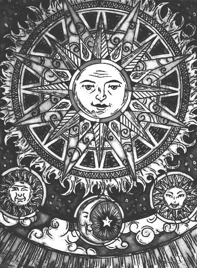 The Black Sun Denotes Idea Of World Going Wrong Destructive Forces Disaster And Even Death