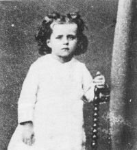 angel Thérèse of Lisieux probably at age 3 - photo from Wikipedia, the free encyclopedia
