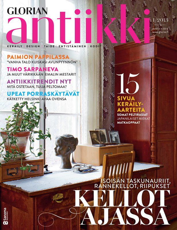 Magazine cover 1/2012. Old vicarage of Paimio, Finland. Photo Riitta Sourander.
