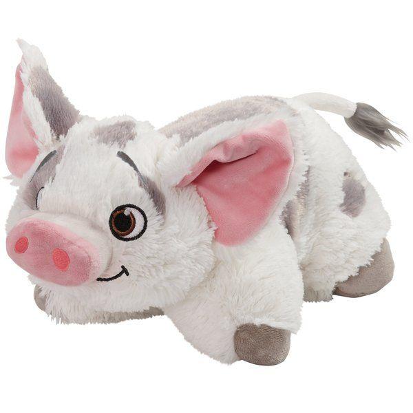 Disney Moana Pua Plush Chenille Throw Pillow Animal
