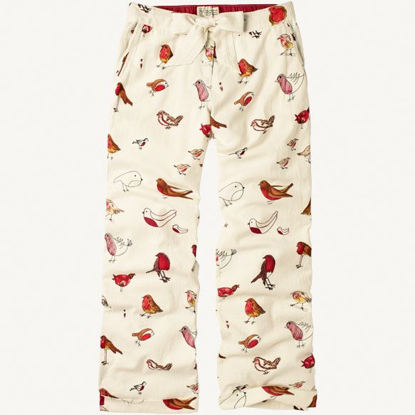 Robin Print Pants at Fat Face