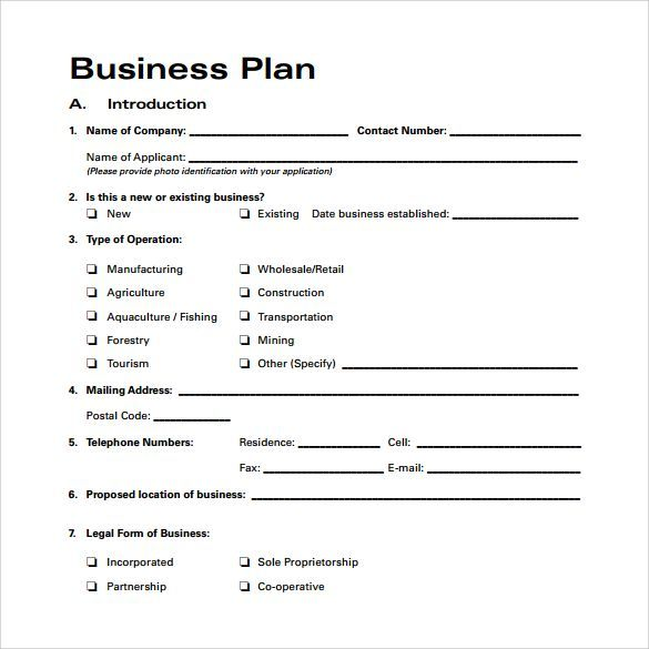 The 25+ best Business plan format ideas on Pinterest Business - business reports format