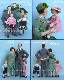 DOLLSNARBON-CATÁLOGO: 1/12 Muñecos especiales, año 2013 - 1/12 Porcelain Custom Dolls, current year