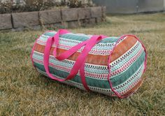 This weekend I decided to make myself a cute duffel bag for my gym stuff. As silly as it may sound, I get a little more excited to go to the gym with a pink bag rather than a plain ole boring black or gray bag. It must be the girl in me:-) This duffel …