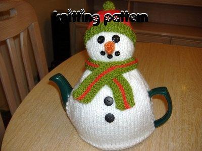 Snowman Tea Cosy Knitting Pattern $4.43 on Etsy at http://www.etsy.com/listing/75216192/snowman-tea-cosy-knitting-pattern-uk