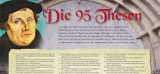 """Bildergebnis für luthers 95 thesen und """"Die 16 Thesen"""" am Portal des Hamburger Michels, entdeckt, am 31.10. 2017, um 1.00 Uhr von Cropp"""