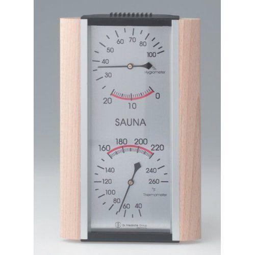 Hanko Beech & Aluminum Frame Sauna Thermometer & Hygrometer >  Hanko Beech & Aluminum Frame Sauna Thermometer & Hygrometer  ...