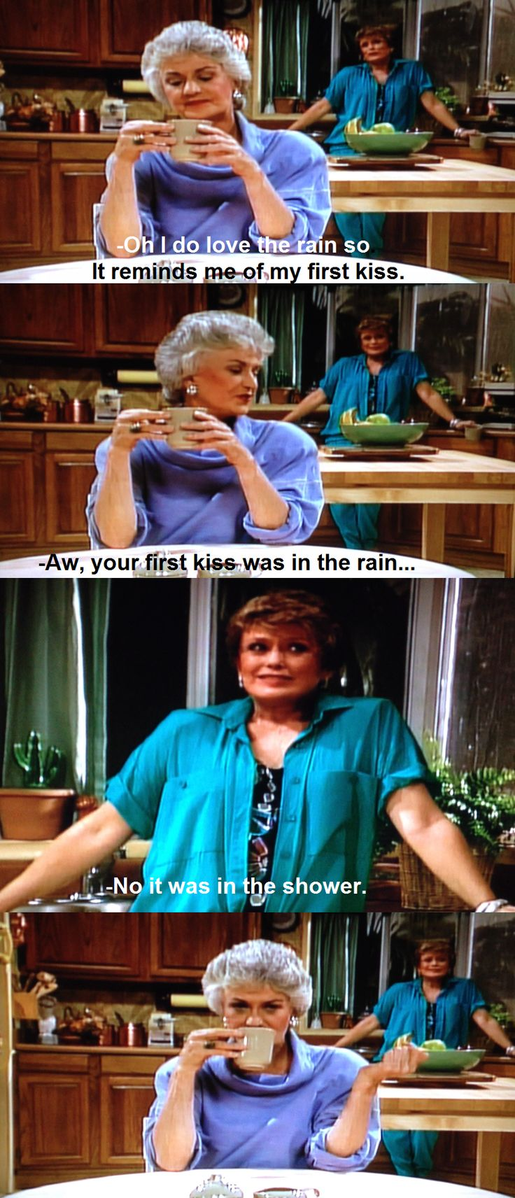 Golden Girls. Blanche kills me!