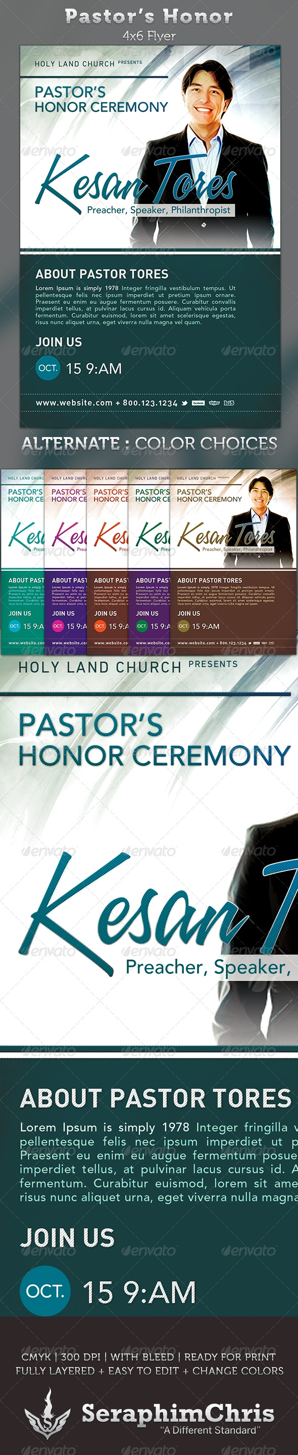 best images about church print samples program pastor s honor church flyer template
