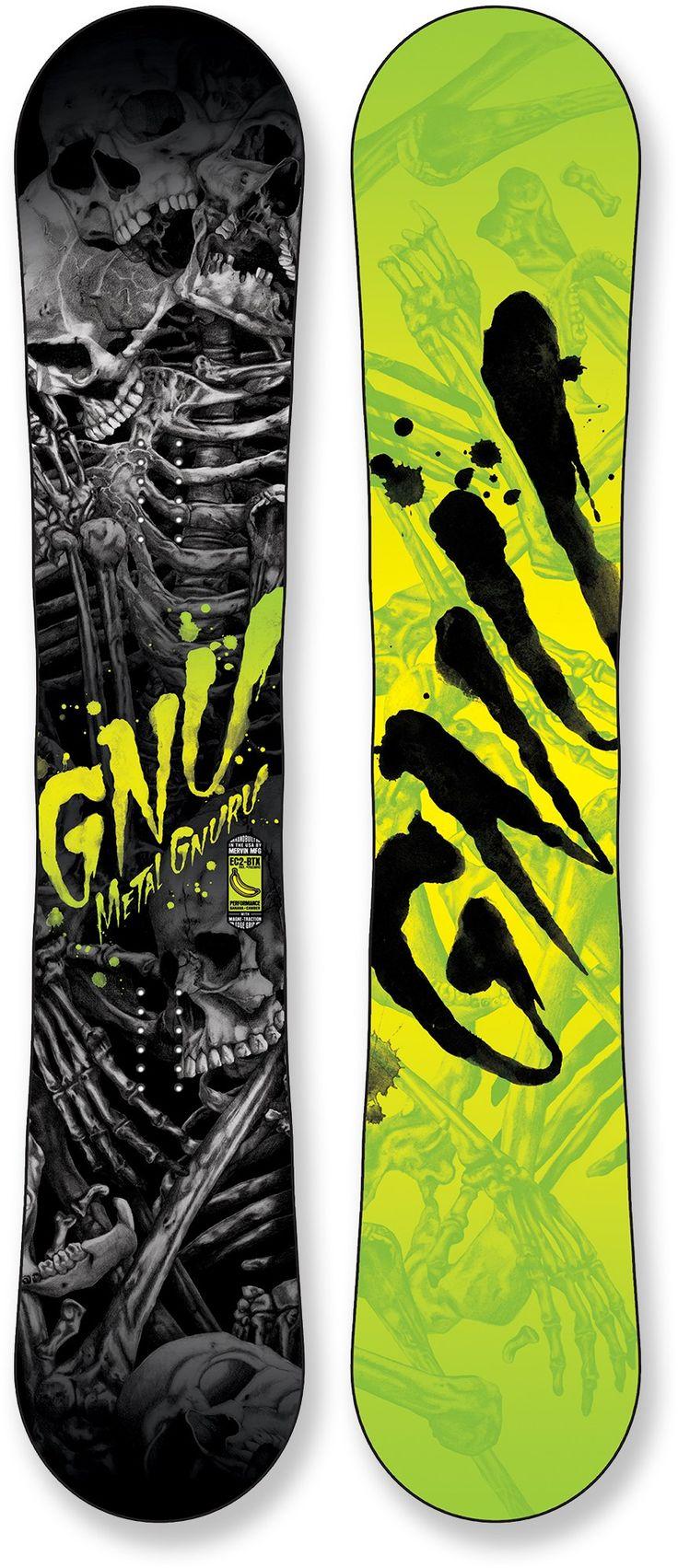 Gnu Male Metal Gnuru Snowboard /2016