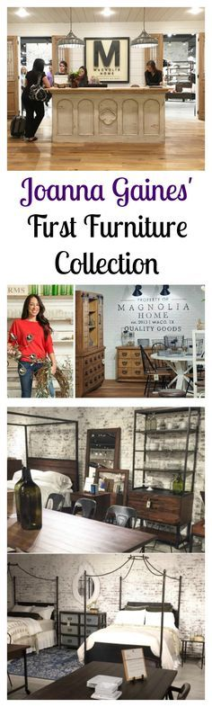 """HGTV's """"Fixer Upper"""", hosts Chip and Joanna Gaines have a new line of furniture - Magnolia Home Furnishing"""