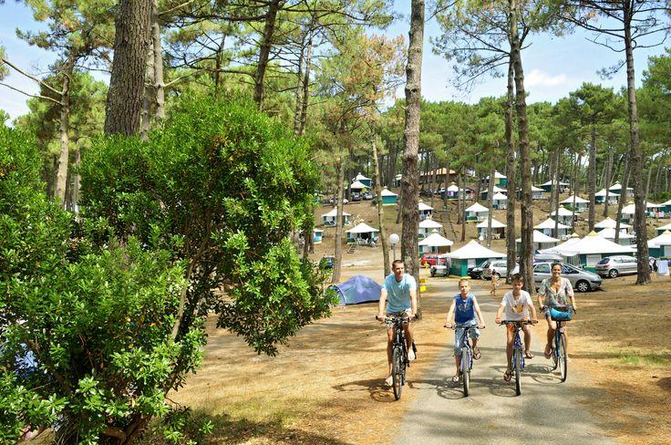 Camping Campéole Plage Sud in Biscarrosse, France
