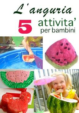 Anguria! Cinque attivita' per giocare con l'anguria! | STELLA123