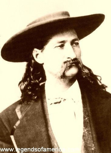 Wild Bill had his faults, grievous ones, perhaps ... He would get drunk, gamble, and indulge in the general licentiousness characteristic of the border in the early days.....
