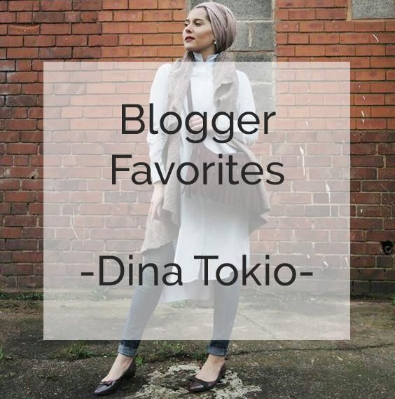 Dina Tokio... Her great spirit and spontaneity will have you hooked on her blog. Modest fashion , beauty, and lifestyle is what she's all about. Time and again she shows up on so many videos and pictures without makeup, showing people what she's all about and expressing her ideas in such an open manner.She is so genuine and natural that you won't be able to resist her charm. Going through her Instagram and YouTube accounts, these are my favorite picks.   Casual Outfit Inspiration...