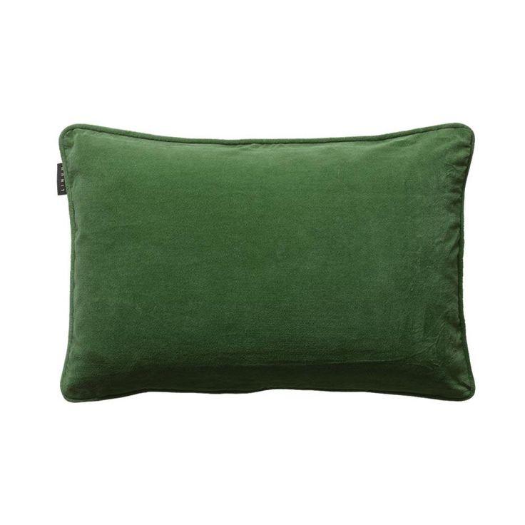 Plushious Velvet Cushion in Emerald Green | Green Velvet Cushion