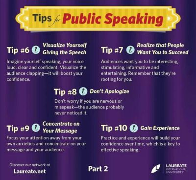 how to be an effective public speaker pdf