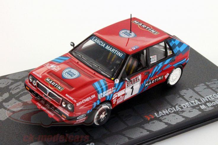 Lancia Delta Integrale 16V, Rally Sanremo 1989, No.1, M.Biasion / T.Siviero, Martini Team. Altaya, 1/43. Price (2016): 10 EUR.