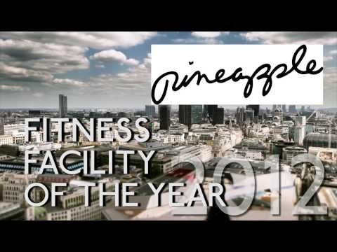 Pineapple Dance Studios win London Fitness Facility of the Year 2012 at the Hot Diamonds London Lifestyle Awards!