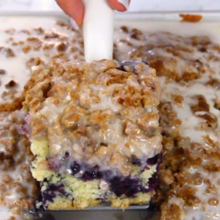 Blueberry Muffin Cake!