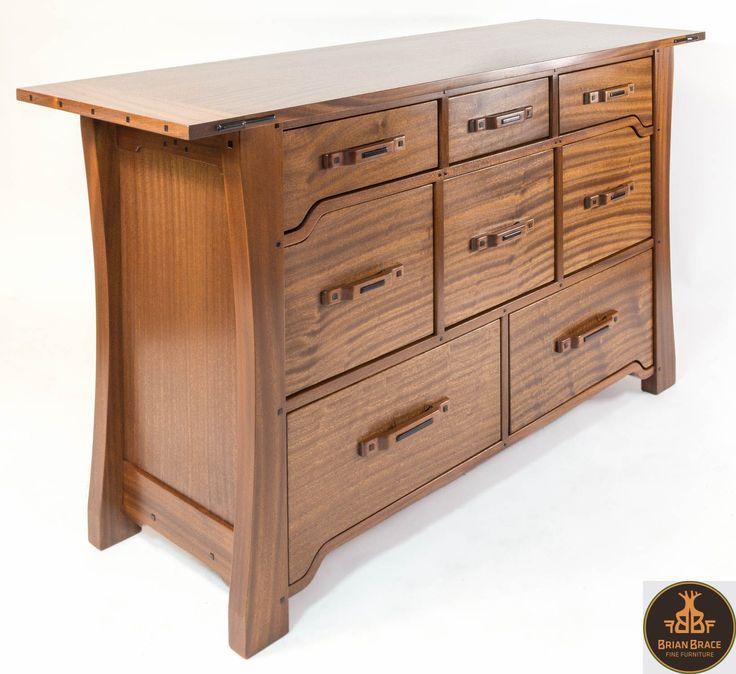 Custom Made Greene And Greene Dresser