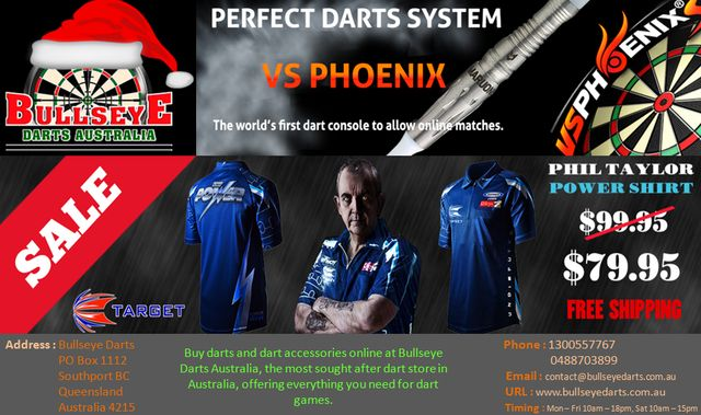 Customers looking to buy darts online can reach us at Bullseye Darts Australia! We are a renowned online shop that is committed to supplying equipments from all major manufacturers. Featured range of darts assures our customers of the quality and pricing.