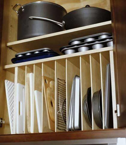 Clever kitchen organising ideas - The Organised Housewife : Tips for organising, decluttering and cleaning your home