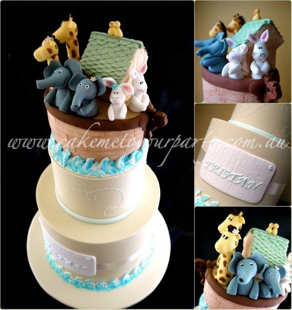 Simple Noahs Ark Cake