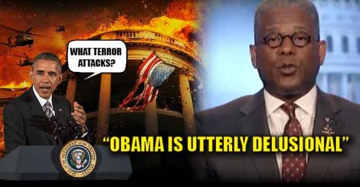 "VIDEO : Obama Says ZERO Foreign Terror Attacks in the Last 8 Years, Allen West Calls it ""Utter Delusion"" – TruthFeed"