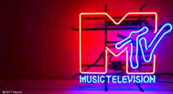 Neon Mtv Neon Signs Cool Neon Signs Neon Words