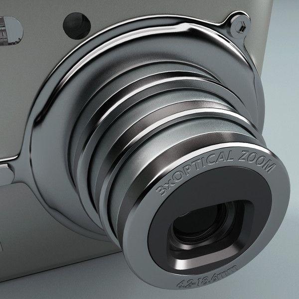 digital camera casio s600 3d model - Digital Camera Casio S600