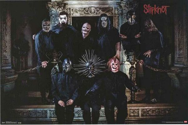 An awesome band portrait poster of Slipknot! They definitely didn't get it taken at K-Mart... Fully licensed - 2014. Ships fast. 22x34 inches. Check out the rest of our great selection of Slipknot pos