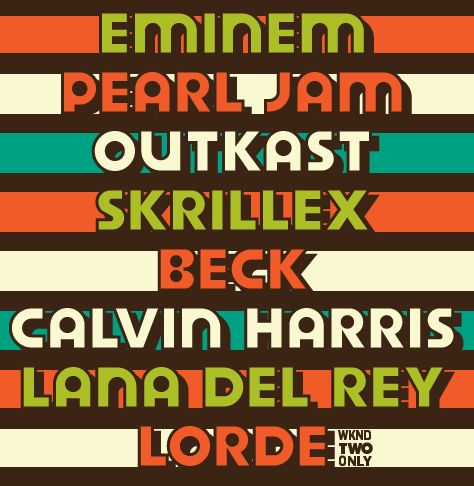 The most perfect lineup is here for Austin City Limits 2014 featuring Eminem, Lana del Rey, and Lorde.