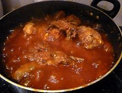 Nigerian Stew, Authentic Recipe. Very good with fish or chicken