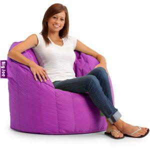Big Joe Lumin Chair Multiple Colors Bags Purple Chair