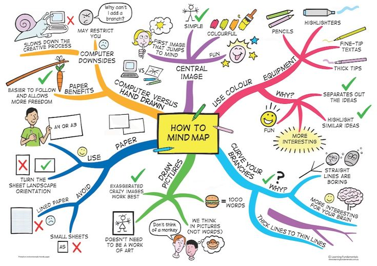 The Organised Student — Hello :) how do you make mindmaps and notes?...