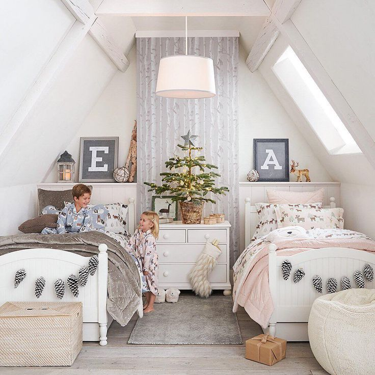 8 Simple Ways To Decorate Kids Rooms For Christmas Cool Kids Rooms Kid Room Decor Bedroom Decor