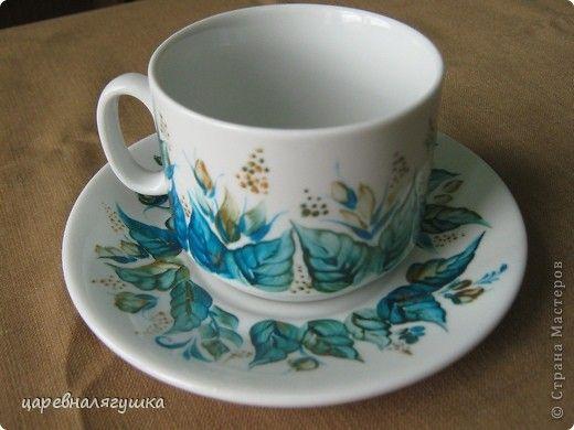 Декор предметов День рождения Роспись Роспись посуды Краска фото 3