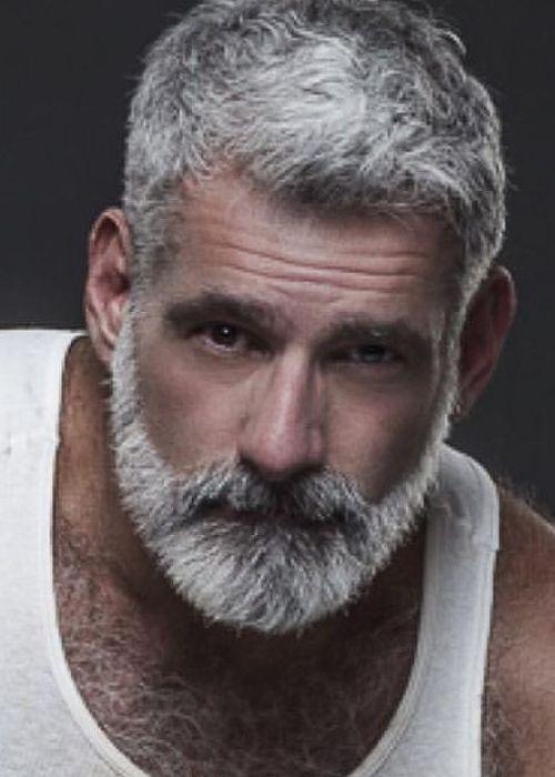 Nice Grey Beard Images White Hair Men