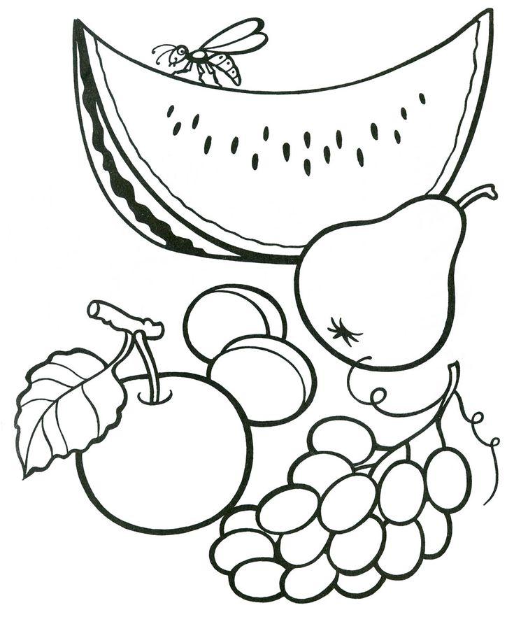 Картинки на тему фрукты для детей