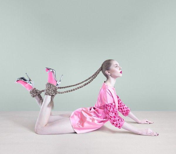 Grace (i) Another series for Bara Prasilova's Visual Metaphor Fashion Photography