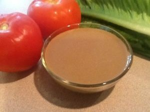 Creamy Balsamic Vinagerette - with MCT Oil!